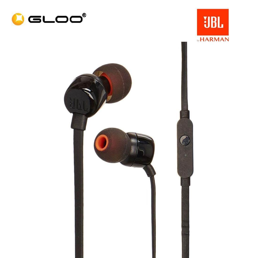 JBL T110 In-Ear Headphones Black/Blue/Red