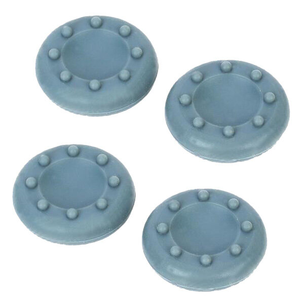 4Pcs Silicone Analog Grips Thumb stick handle caps Cover For Sony Playstation 4 PS4 PS3 Xbox Controllers (Grey)