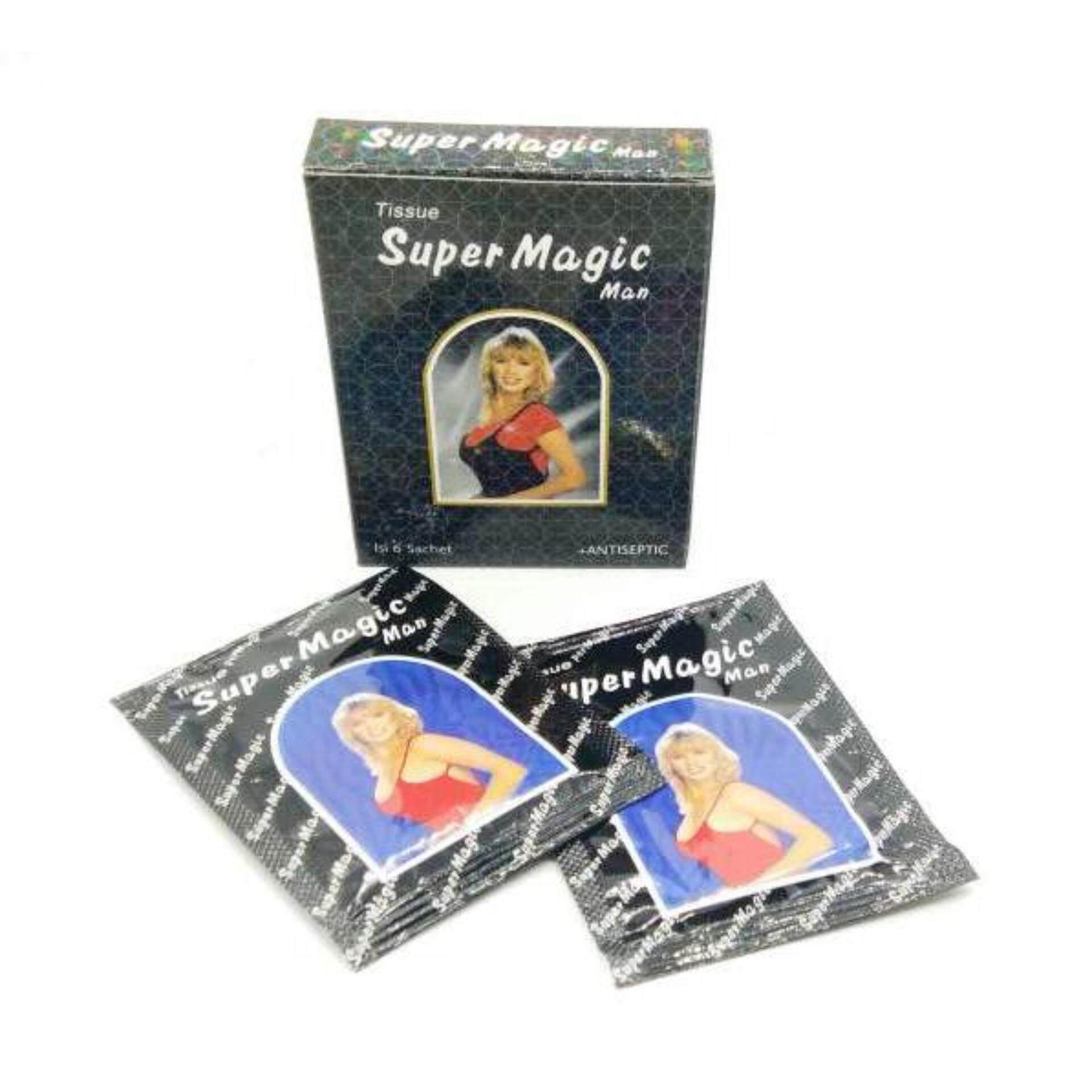 Super Magic Tissue Aroma Casanova Sachet 6 Daftar Harga Terbaru Tisu Man 1 Box