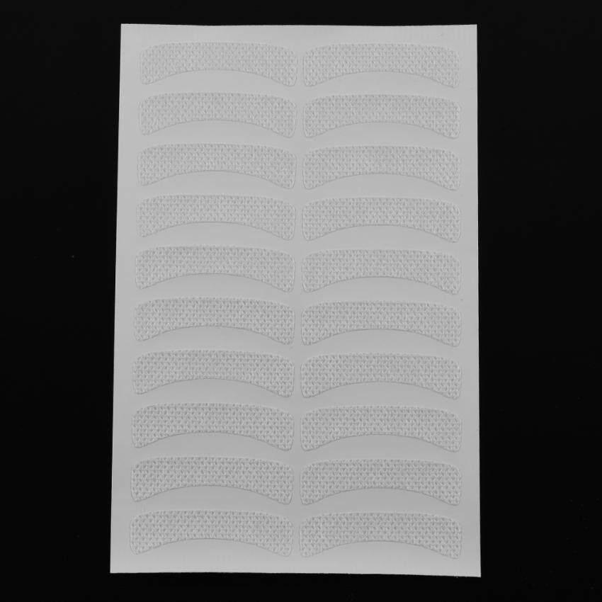 100 Pcs Non-woven Lembut Makeup Pewarnaan Tape Bulu Mata Palsu Pad Mata Stiker- ...