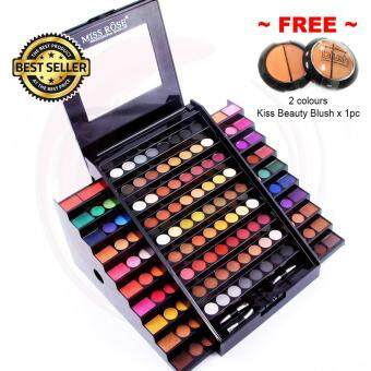 130 Colors Miss Rose Professional Makeup Academy Palette, Eyeshadow