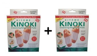 Harga 2 UNITS of Kinoki Detox Foot Treatment ASOTV (10 Pads per Unit)