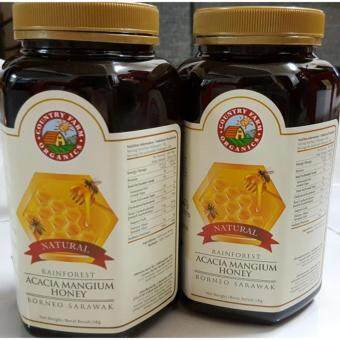 Harga 2 x Country Farm Organic Rainforest Acacia Honey 1 Kg