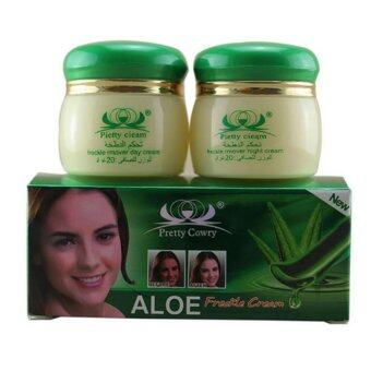 Harga 20g *2 /1set Skin Care Aloe Spot Whitening Face Cream RemovesPigment Moisturizing Freckle Face Care