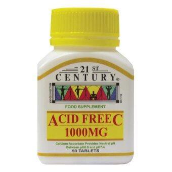 21St Acid Free Vitamin C 1000Mg 50T
