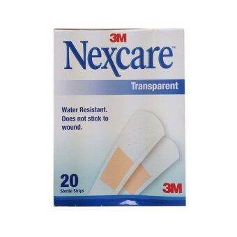 3M Nexcare Transparent 20 strips