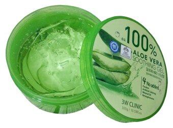 3W Clinic 100% Aloe Vera Soothing Gels - 2