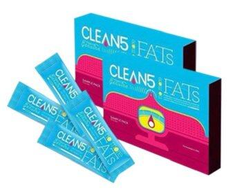 Harga (4Box FREE GIFT) Clean5 No More Fats OXYO2 Premium Quality USAFormulated