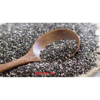 Harga 500 GRAMS Pure USDA Certified Organic Chia Seeds Premium QualitySeeds