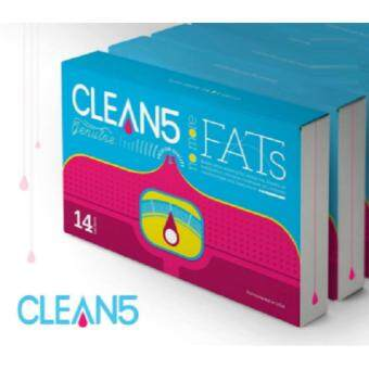 Harga (6Boxes FREE GIFT) Clean5 No More Fats OXYO2 Premium Quality USAFormulated