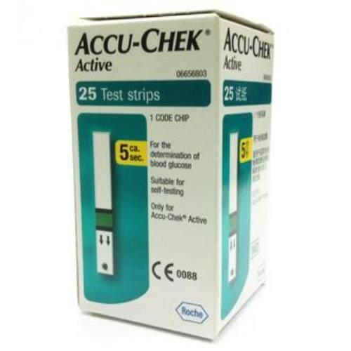 ACCU-CHEK ACTIVE GLUCOSE STRIP 25S
