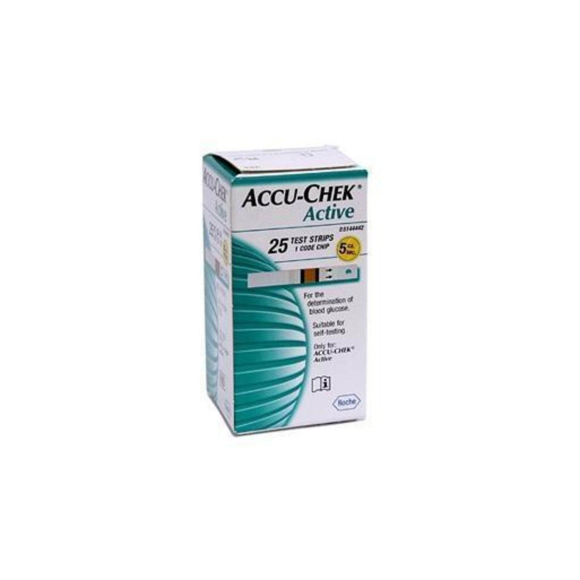 Accu-Chek Active Test Strips 25pcs X 2