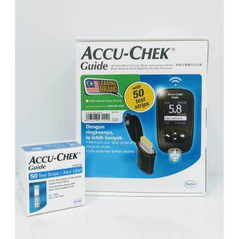 Harga Accu-Chek Guide Blood Glucose Meter FREE 50's Test Strips