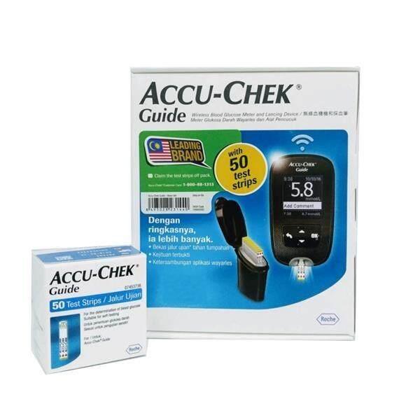 Accu-chek Guide Blood Glucose Monitor + 50 Test Strips