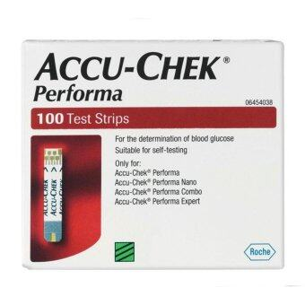 Harga Accu Chek Performa Glucose Strips 50'S+50'S Total 100'Strips