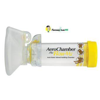 Harga Aerochamber Plus Flow-Vu Yellow 1-5 years old