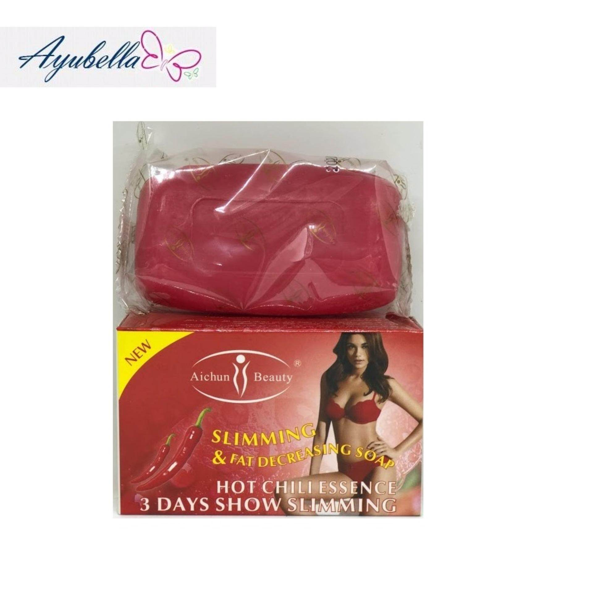 Aichun Beauty Slimming Soap x 2 (Chilli and Ginger)