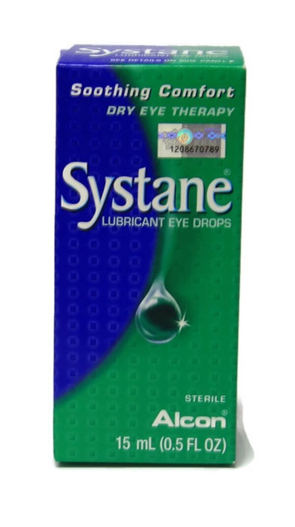 Alcon Systane Lubricant Eye Drops 15ml (Twin Pack)