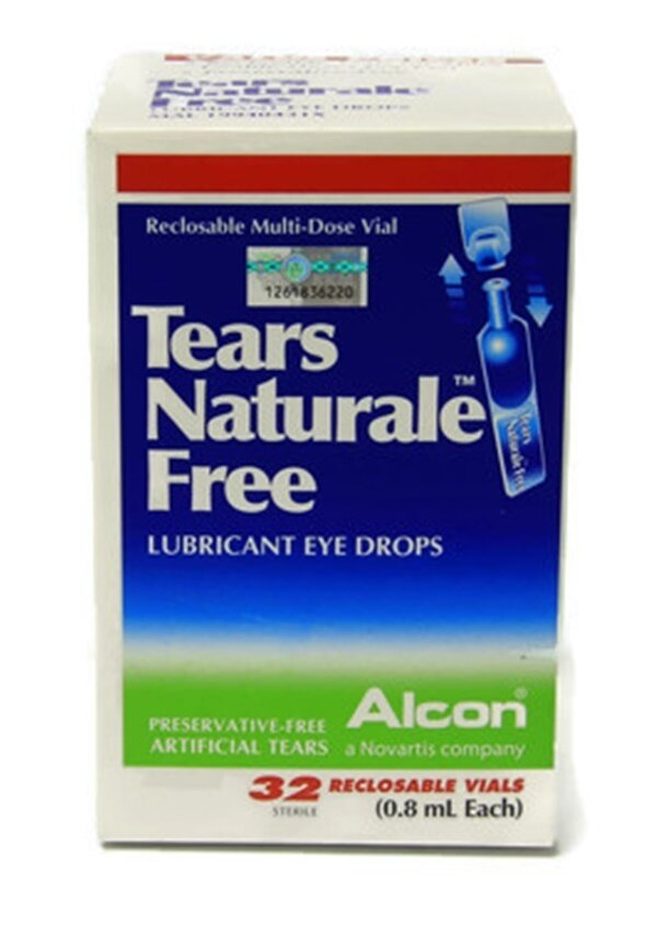 Alcon Tears Naturale Free 0.8ml (32 Sterile) (Twin Pack)