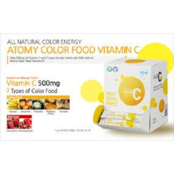 ALL NATURAL VITAMIN C MADE FROM FOOD COLOURS ATOMY