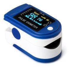 Spesifikasi Allwin Led Tensi Oksigen Jari Pulsa Oksimeter Monitor Biru Dan Harga