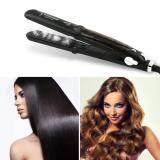 Harga Allwin Professional Dual Use Ceramic Vapor Steam Hair Straightener Hair Styling Tool Black Eu Intl Online