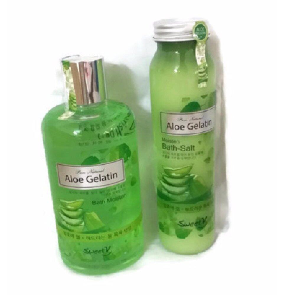 Aloe Gel from plants extracts  Bath Set