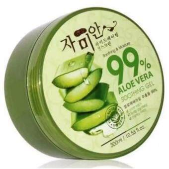 Harga Aloe Vera Soothing Gel [Made In Korea] Soothing & Moisture 99% (300ml)
