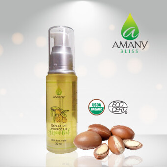 Harga AMANY Bliss 100% Pure Moroccan Argan Oil 30ml