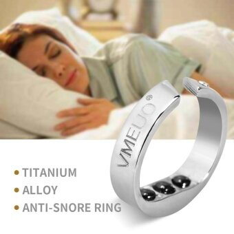 Anti Snoring Ring Stopper Sleeping Breath Aid Acupressure TreatmentStop Snore Device L