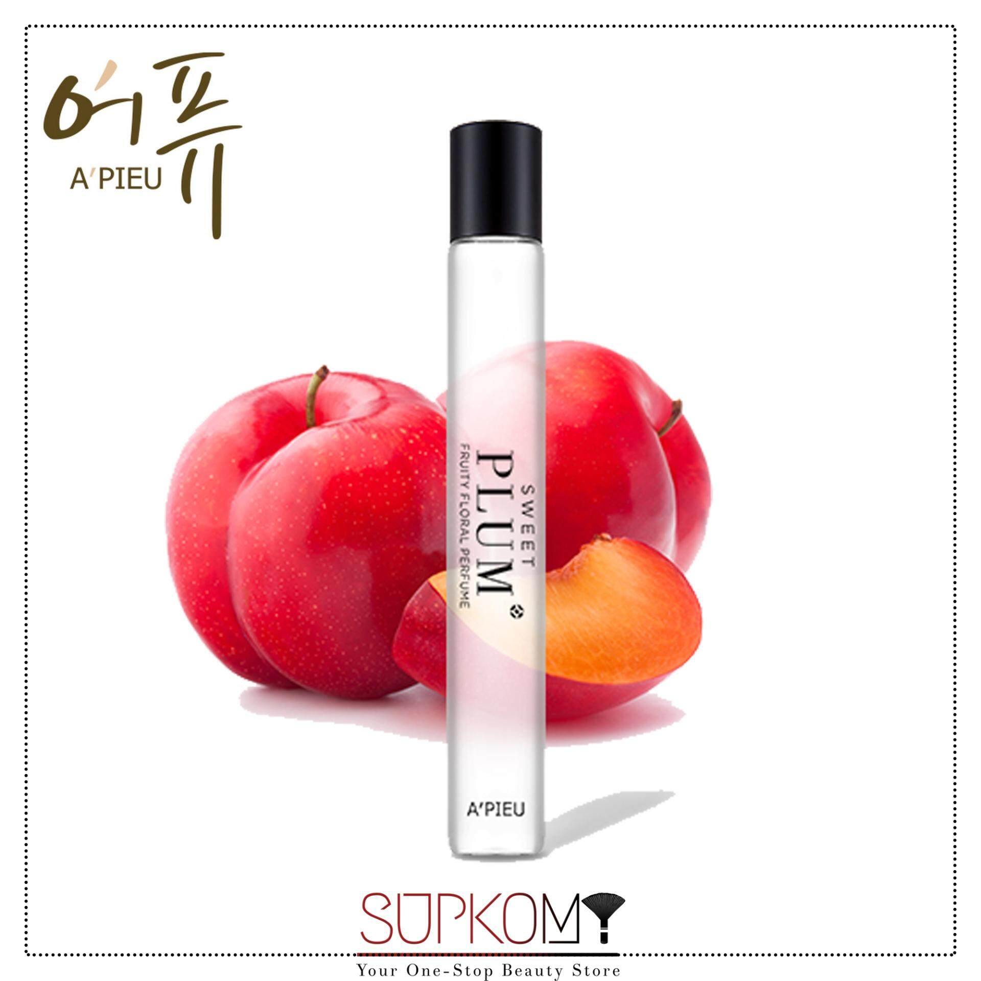 A'PIEU My Handy Roll-on Perfume (Plum) Long-Lasting Perfume Fragrance