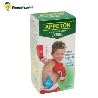 Appeton Multivitamin Lysine 120ml (Exp 02/2019)