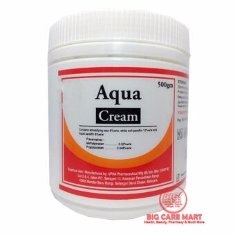 Harga AQUA CREAM 500G (AQUEOUS CREAM) FOR VERY DRY SKIN