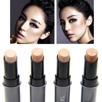Ashley May Lip Foundation Stick Eye Concealer Makeup Concealer Stick Perfect Concealer Stick Face Primer Base Natural 4 Colors (Size/Style:2 ,Color:Champagne)