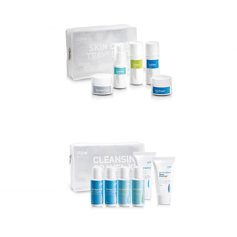 ATOMY Travel Bundle (Skin Care Kit and Cleansing Kit Total 11pcs)