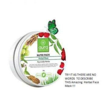 Harga Aura Botanic Nutripack Herbal Mask