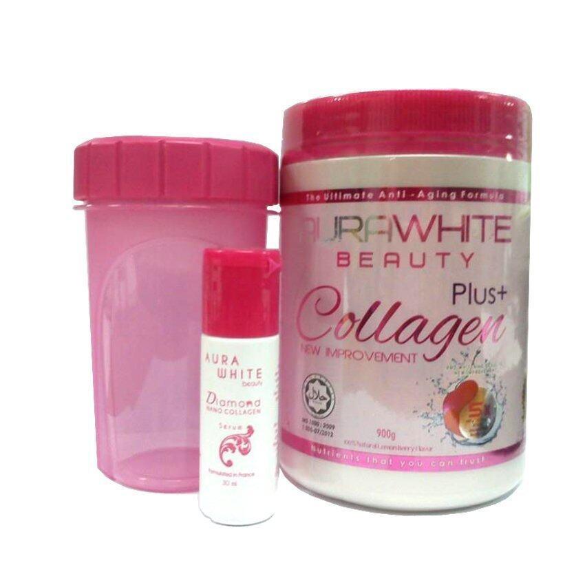 Aura White Plus Collagen 900000mg