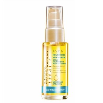 Harga AVON ADVANCE TECHNIQUES MOROCCAN ARGAN OIL LEAVE-IN TREATMENT 30ML