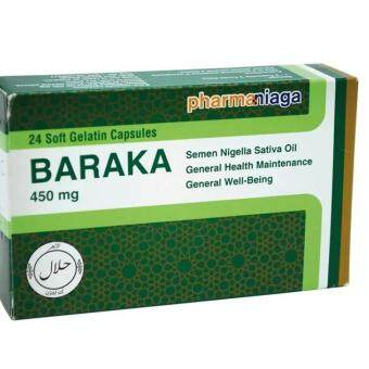 Harga Baraka - Black Seed Extract oil in Soft Capsules (Box of 24's)