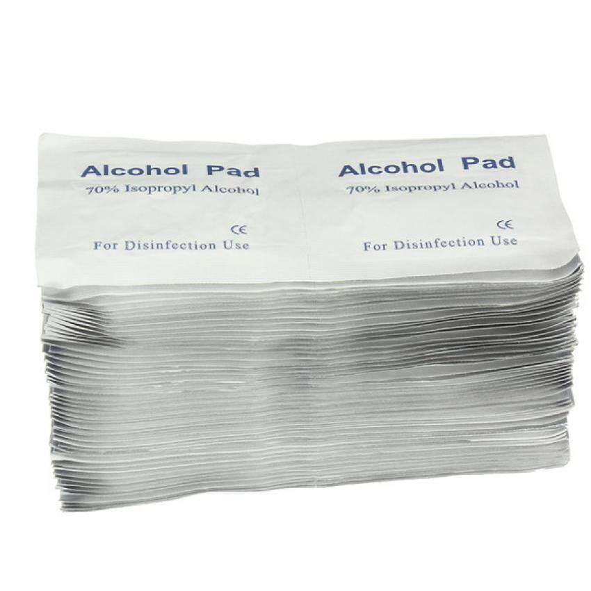 BD Alcohol Swab 100's (Sterile Alcohol Pad for disinfection) (set of 2)