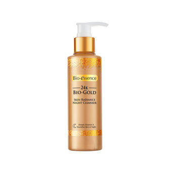 Harga BIO-ESSENCE 24k Bio Gold Skin Radiance Night Cleanser 160g