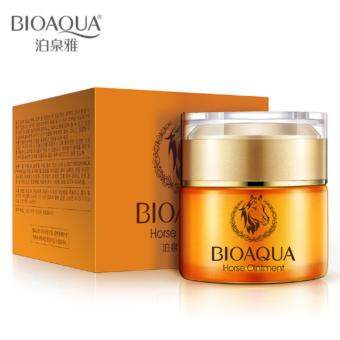 BIOAQUA Horse Oil Essence Cream 50ml moisturizing Whitening Oil Control Care / Deep Hydrating Anti-Aging Face Cream