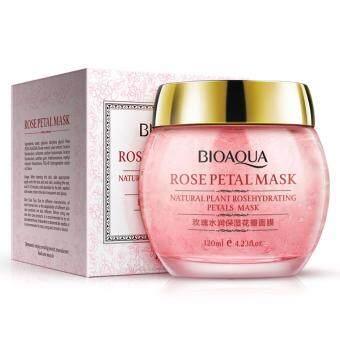 BIOAQUA Natural Rose Petal Extract Whitening Facial Mask 120ml