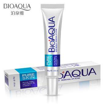 BIOAQUA Skin Care Face Acne Treatment Acne Scars Cream Anti Acne Removal Gel Whitening Moisturizing Cream 30g