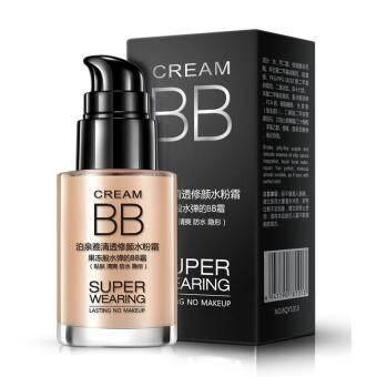 BIOAQUA Super Wearing Persistent BB Cream Long Lasting MoisturizingLiquid Foundation * FREE Makeup Brush