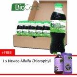 Biocare Alfalfa Chlorophyll drink 24 X 500ml - Free Newco Alfalfa Chlorophyll