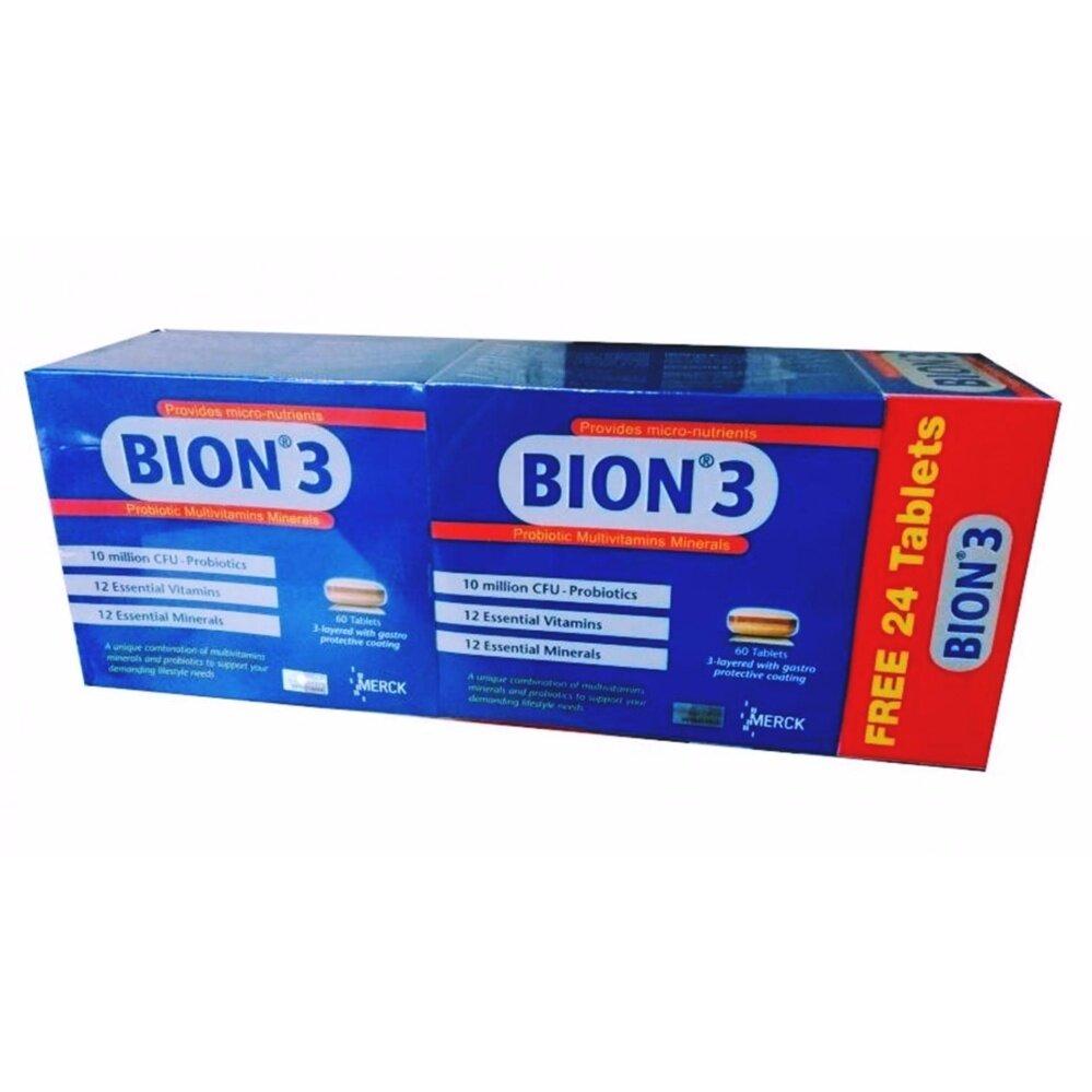 BION 3 PROBIOTIC MULTIVITAMINS MINERALS 2x60s+24s