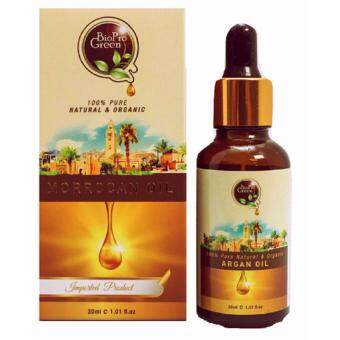 BioPro Green 100% Pure Organic Argan oil - Minyak Argan 30 ML (Imported Morocco Distributor)