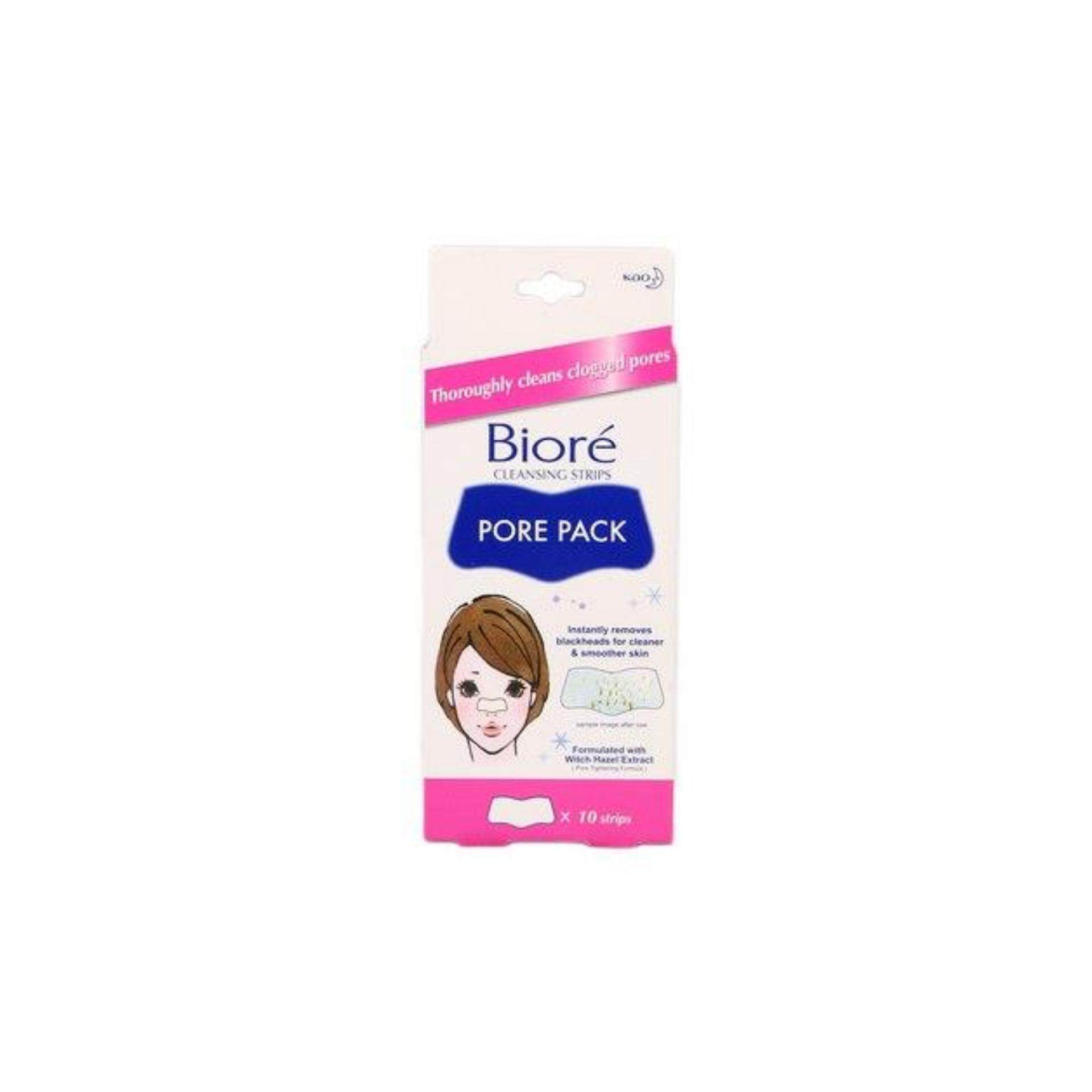 Biore Pore Pack 10s (Remove Nose Blackheads)