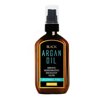Harga Black moroccan Argan Oil for Hair Treatment 100ml